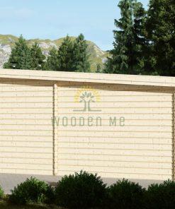 Moderna garāža 24m² (4m x 6m), 44mm