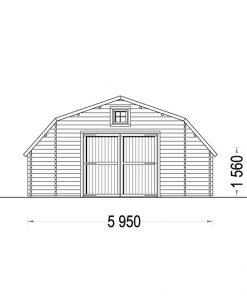Garāža Texas 32 m²