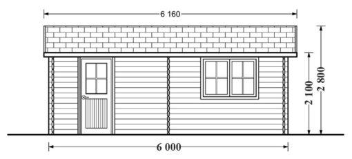 Garāža 27 m²