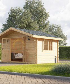 Mazā māja Rennes 10 m² (4m x 3m), 34mm