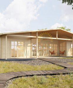 Vasarnīca māja RIVIERA 89m² + 21.55m² terase