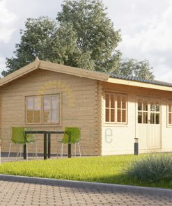 Dārza māja Oak 18 m², 44 mm