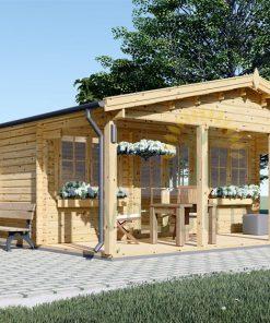 Vasarnīca Dinan 32 m² + 10 m² terase
