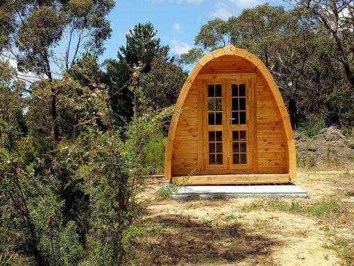 Kempings Pod - unikāls dizains. Europoje camping pod