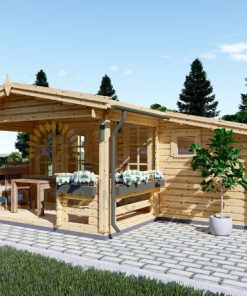 Dārza māja ISLA 15m² + 7,25m² terase