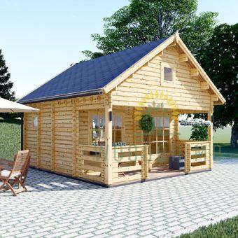 Dārza māja ALBI 18m²