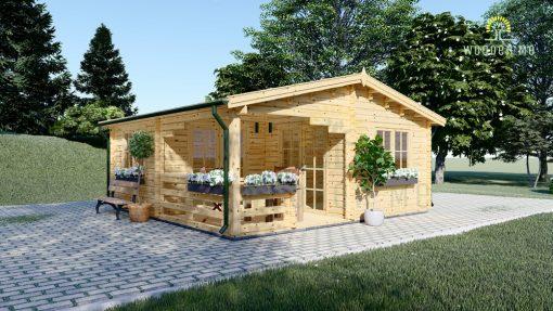 Dārza māja OLIVIA 32m²