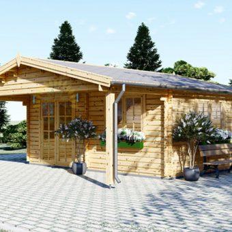 Dārza māja CAMILA 21m² + 11m² terase