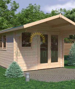 Dārza māja Alva 3x4m, 28mm