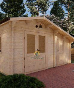 Dārza māja DECO 5m x 3m 44 mm