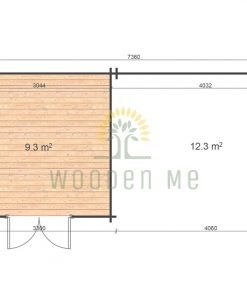 Eric 3.3x7.46 28mm floor plan