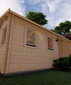 Dārza māja HELMAND 3 m x 9 m 44 mm