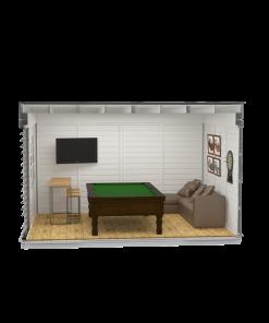 Siltināta māja Cube-MANS CAVE (3 m x 4 m)