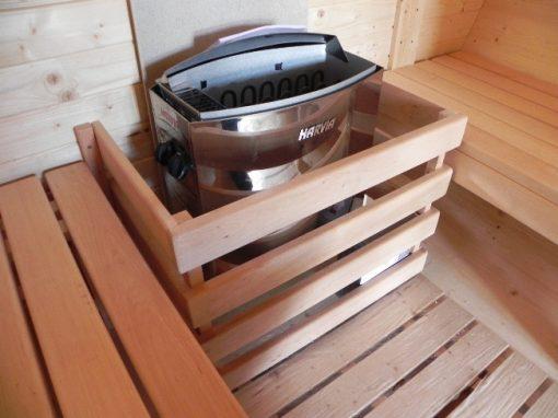 Pirts muca 2.5 m Ø 1.9 m - ar elektrisko sildītāju