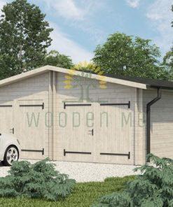 Garāža Roddy 5.7 m x 8.7 m (49 m²)